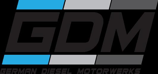 German Diesel Motorwerks Retina Logo
