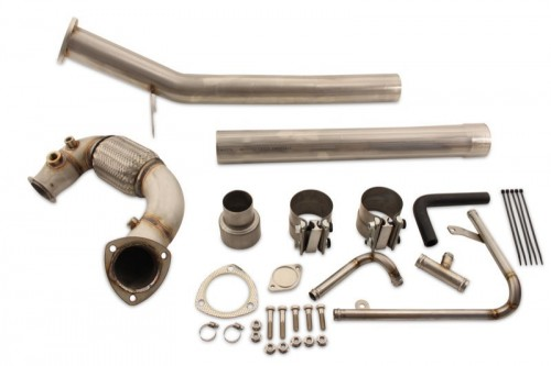 Golf TDI (2015+) DPF, EGR & Adblue Exhaust Upgrade, Straight Pipe