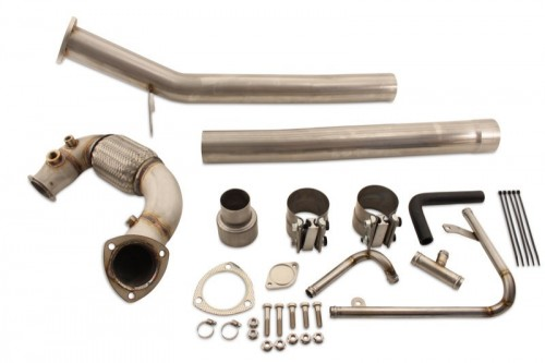 Jetta TDI (2015+) DPF, EGR, & Adblue Exhaust Upgrade ECO Kit, Straight Pipe