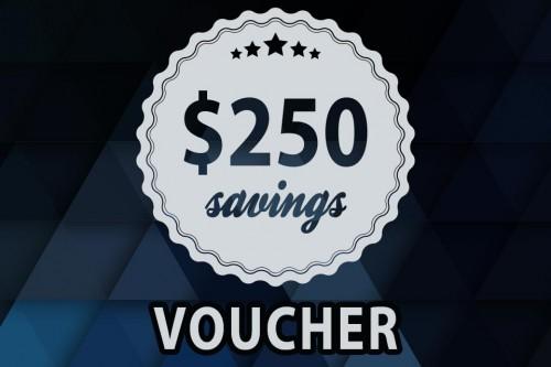 250 Dollar Voucher